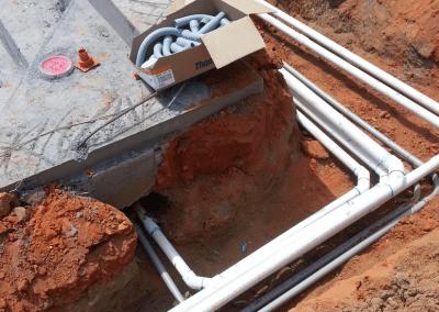 Running Plumbing & Electrical